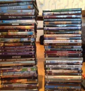 DVD диски (65 штук)