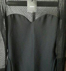 Черное платье koton р.46