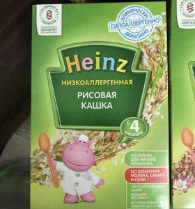 Каша Heinz гречневая и рисовая