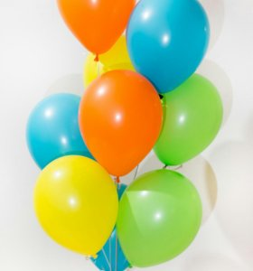 Гелиевые шары без рисунка