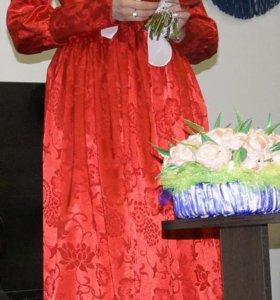Потрясающее платье для никаха