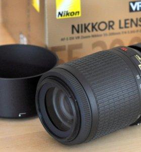Телевик Nikon 55-200
