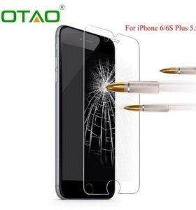 Защитное стекло на IPhone 4/4s, 5/5s/SE, 6/6s