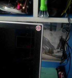 Системный блок и монитор