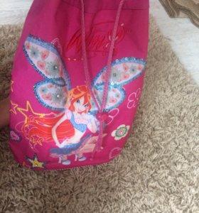 Детский рюкзак для девочки/винкс