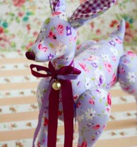 Игрушка оленёнок. Тильда игрушка