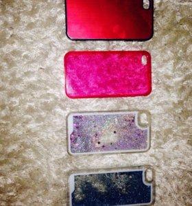 Чехлы 4s и 5 iPhone