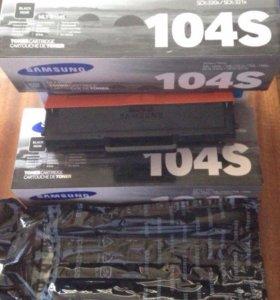 Оригинальные картриджи Samsung 104S б/у
