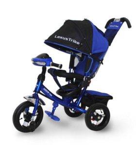 "Трехколёсный велосипед Lexus Trike 12-10"" муз фара"