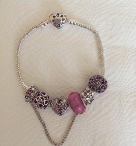 Шармы,браслеты Pandora