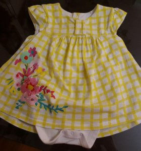 Платье - боди Mothercare 80 р-р