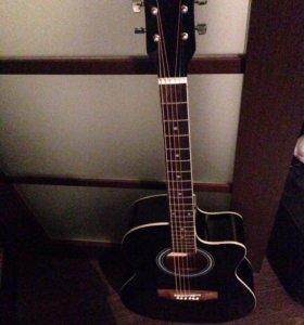 """СРОЧНО!!  Продам акустическую гитару """"Prado"""" торг."""