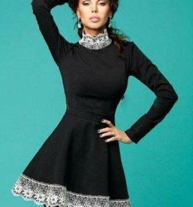 Черное платье MiraSezar