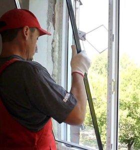 Замена стеклопакета на ПВХ окнах