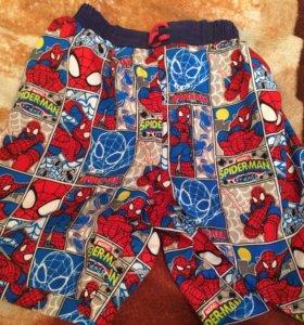 Плавки-шорты на 6-9 лет
