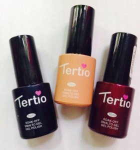 Гель-лак Tertio