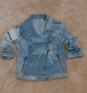 Новая джинсовая косуха