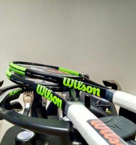 Перетяжка теннисных ракеток - натяжка струн