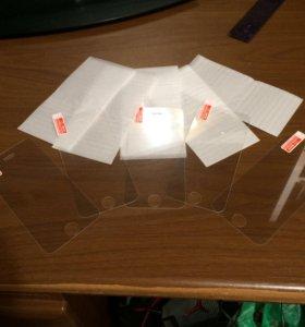 Плёнка-стекло iPhone 5 / 5C / 5S / SE