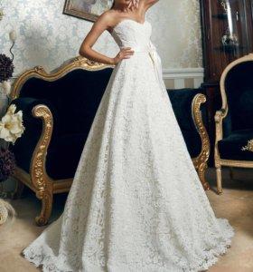 Кружевное свадебное платье Дарья Карлози, Серенада