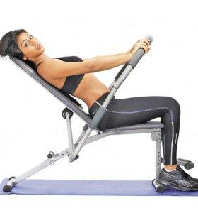 Тренажёр для мышц пресса, рук, спины