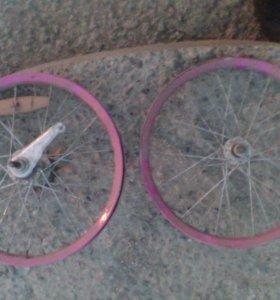 Колёса на детский велосипед