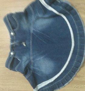 Юбка джинсовая женская турецкая