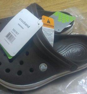 Crocs кроксы сабо новые 37-37,5