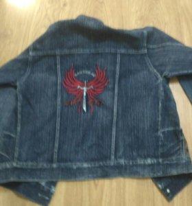 Куртка джинсовая мальчиковая