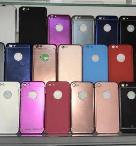 Защитные чехлы для iPhone 5/5s, 6/6s/6 Plus, 7