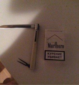 Ножик с вилкой