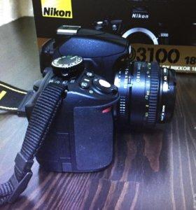 Фотоаппарат Nikon D3100 18-55 VR Kit