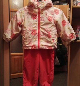 Куртка и комбинезон для девочки весна - осень, рос