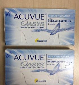 Линзы ACUVUE OASYS for astigmatism