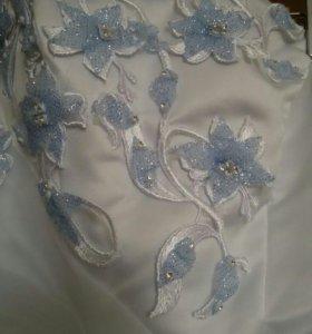 Свадебное платье )
