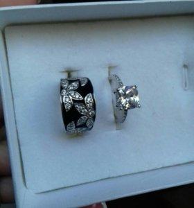 Украшение серебро/бижутерия
