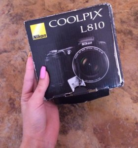 Камера Nikon L810