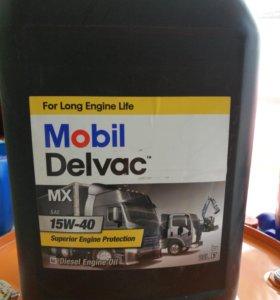 Mobil Delvac 15w40 20л.