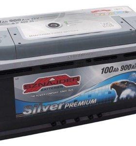 Аккумулятор Sznajder Silver Premium 100 Ah