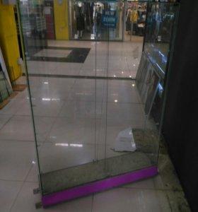 Витрина стеклян