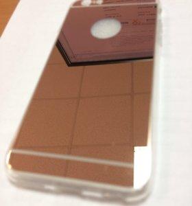 Чехол бампер на айфон 6 6s зеркальный