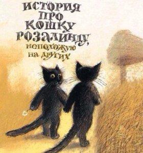 Книга про кошку розалинду