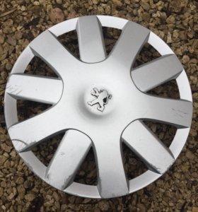 Колпак колеса для Пежо оригинал