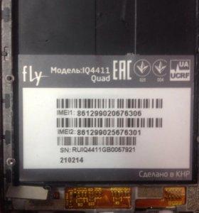 Дисплей fly IQ4411quad