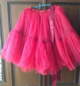 Новая пышная юбка из фатина