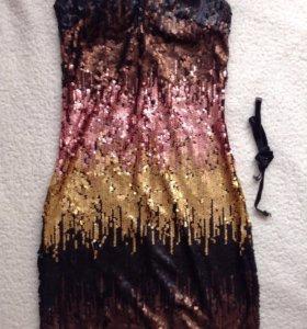 Новое платье в пайетках