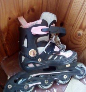 Ролики и коньки для девочки