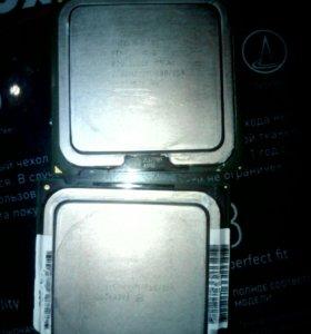 Процесоры D820 2 ядра по 2,8 и D945 2 по 3,6
