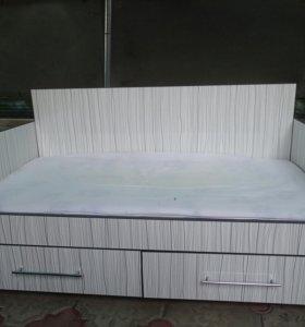 Кровать детская диван