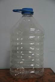 ПЭТ бутылки 5л из-под воды.